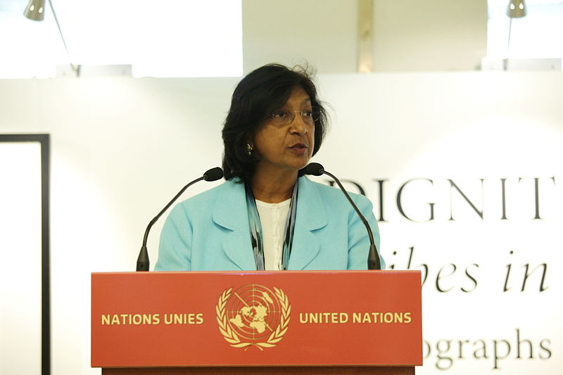 Hohe Kommissarin der Vereinten Nationen für Menschenrechte.CC U.S. Mission Photo by Eric Bridiers